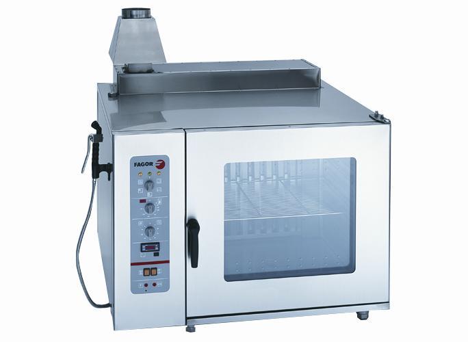 Asa horno de gas con vapor for Cocinar con horno de vapor